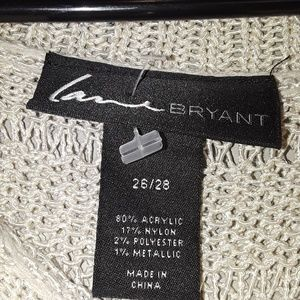 Lane Bryant Sweaters - Lane Bryant plus size split back sweater off white